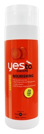 Yes To - Carrots Shampoo Nourishing for Normal to Dry Hair - 16.9 oz.