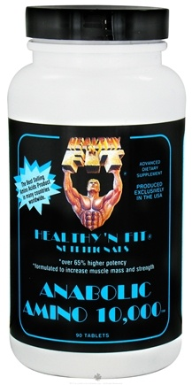 DROPPED: Healthy N' Fit - Anabolic Amino 10000 - 90 Tablets CLEARANCE PRICED