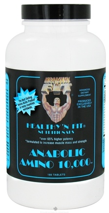 DROPPED: Healthy N' Fit - Anabolic Amino 10000 - 180 Tablets CLEARANCE PRICED