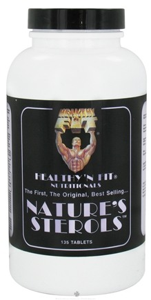 DROPPED: Healthy N' Fit - Nature's Sterols - 135 Tablets CLEARANCE PRICED
