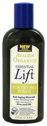 DROPPED: Avalon Organics - Essential Lift Fortifying Toner - 6 oz.