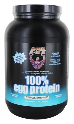 Healthy N' Fit - 100% Egg Protein Vanilla Ice Cream - 2 lbs.