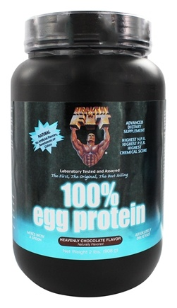 Healthy N' Fit - 100% Egg Protein Heavenly Chocolate - 2 lbs.