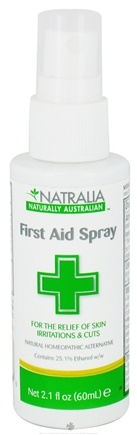 DROPPED: Natralia - First Aid Spray Homeopathic - 2.1 oz. CLEARANCE PRICED