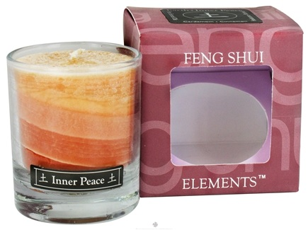 DROPPED: Aloha Bay - Feng Shui Palm Wax Jar Candle Earth Inner Peace - 2.5 oz. CLEARANCE PRICED