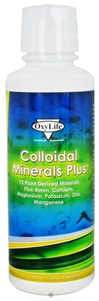 DROPPED: OxyLife Products - Colloidal Minerals Plus Trace Minerals Body Booster - 16 oz.