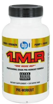 DROPPED: BPI Sports - 1 M.R Professional Grade Pre-Workout Formula - 120 Tablet(s)