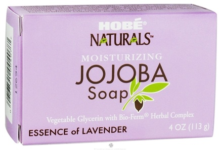 DROPPED: Hobe Labs - Moisturizing Jojoba Bar Soap Essence of Lavender - 4 oz. CLEARANCE PRICED