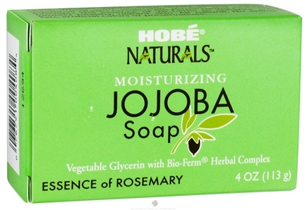 DROPPED: Hobe Labs - Moisturizing Jojoba Bar Soap Essence of Rosemary - 4 oz. CLEARANCE PRICED