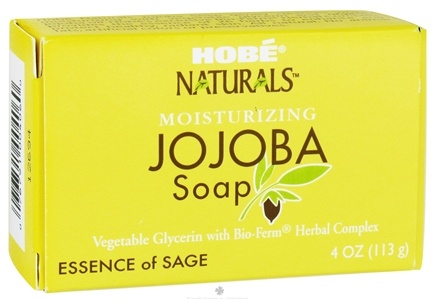 DROPPED: Hobe Labs - Moisturizing Jojoba Bar Soap Essence of Sage - 4 oz. CLEARANCE PRICED