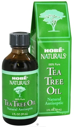 DROPPED: Hobe Labs - Tea Tree Oil 100% Pure Natural Antiseptic - 2 oz. CLEARANCE PRICED