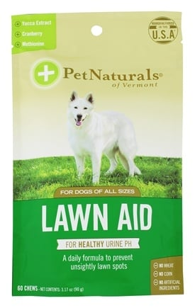 Pet Naturals of Vermont - Lawn Aid For Dogs Chicken Liver Flavored - 60 Chews