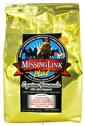 DROPPED: Designing Health - The Missing Link Plus Equine Formula With Joint Support For Horses - 5 lbs. CLEARANCE PRICED