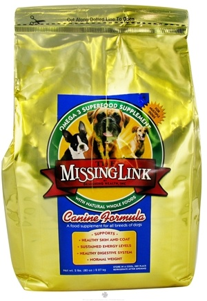 DROPPED: Designing Health - The Missing Link Canine Formula - 5 lbs. CLEARANCE PRICED