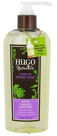 DROPPED: Hugo Naturals - Liquid Hand Soap Calming French Lavender - 8 oz. CLEARANCE PRICED