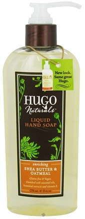 DROPPED: Hugo Naturals - Liquid Hand Soap Enriching Shea Butter & Oatmeal - 8 oz.