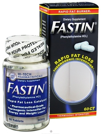 DROPPED: Hi-Tech Pharmaceuticals - Fastin Rapid Fat Burner - 60 Capsules Phentermine CLEARANCE PRICED