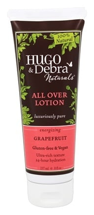 Hugo Naturals - All Over Lotion Energizing Grapefruit - 8 oz.