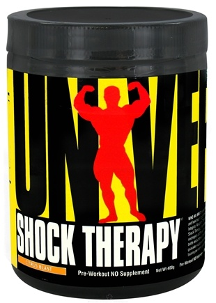 DROPPED: Universal Nutrition - Shock Therapy Pre-Workout NO Volumizer Citrus Blast - 400 Grams CLEARANCE PRICED