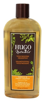 Hugo Naturals - Shampoo Volumizing Vanilla & Sweet Orange - 12 oz.