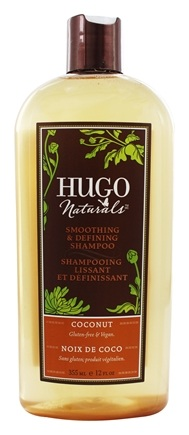 Hugo Naturals - Shampoo Smoothing & Defining Coconut - 12 oz.