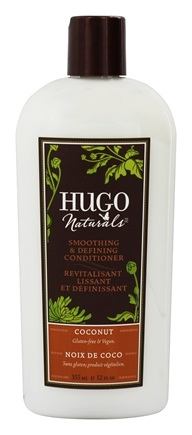 Hugo Naturals - Conditioner Smoothing & Defining Coconut - 12 oz.
