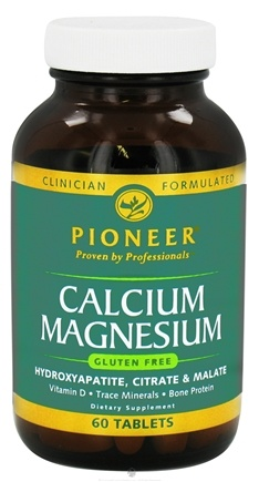 DROPPED: Pioneer - Calcium Magnesium - 60 Tablets CLEARANCE PRICED