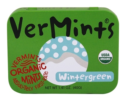 DROPPED: Vermints - All Natural Mints WinterMint - 40 Piece(s)
