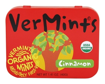 DROPPED: Vermints - All Natural Mints CinnaMint - 40 Piece(s) CLEARANCE PRICED