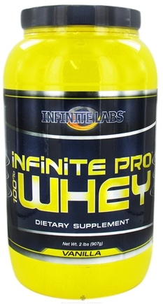 DROPPED: Infinite Labs - Infinite Pro 100% Whey Protein Vanilla - 2 lbs. CLEARANCE PRICED