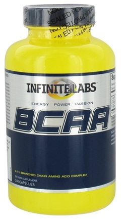 DROPPED: Infinite Labs - BCAA - 240 Capsules