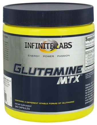 DROPPED: Infinite Labs - Glutamine MTX - 240 Capsules
