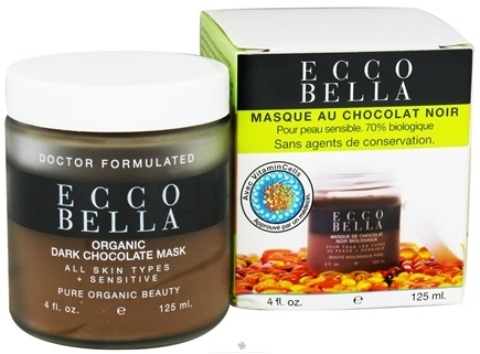 DROPPED: Ecco Bella - Organic Dark Chocolate Mask - 4 oz. CLEARANCE PRICED