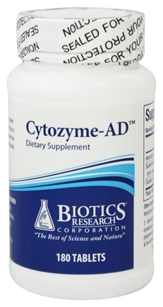 Biotics Research - Cytozyme-AD - 180 Tablets