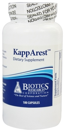 Biotics Research - KappArest - 180 Capsules