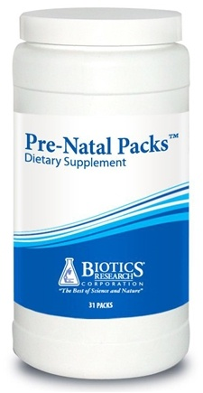 DROPPED: Biotics Research - Pre-Natal Packs - 31 Pack(s) CLEARANCE PRICED