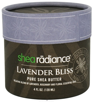 DROPPED: Shea Radiance - Pure Shea Butter Lavender Bliss - 4 oz. CLEARANCE PRICED