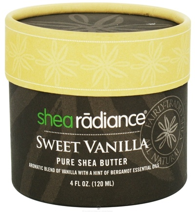 DROPPED: Shea Radiance - Pure Shea Butter Sweet Vanilla - 4 oz. CLEARANCE PRICED
