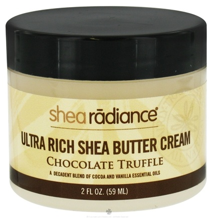 DROPPED: Shea Radiance - Ultra Rich Shea Butter Cream Chocolate Truffle - 2 oz. CLEARANCE PRICED
