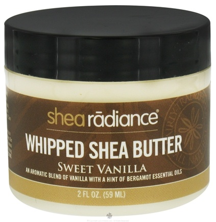 DROPPED: Shea Radiance - Whipped Shea Butter Sweet Vanilla - 2 oz. CLEARANCE PRICED