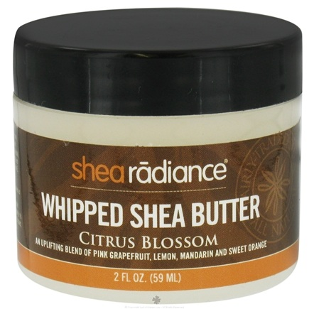 DROPPED: Shea Radiance - Whipped Shea Butter Citrus Blossom - 2 oz. CLEARANCE PRICED
