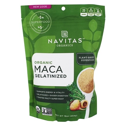 DROPPED: Navitas Naturals - Gelatinized Maca Powder - 16 oz.