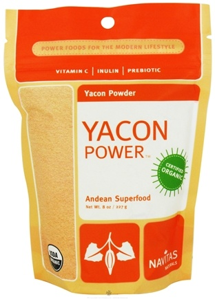 DROPPED: Navitas Naturals - Yacon Power Yacon Powder - 8 oz. CLEARANCE PRICED