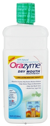 DROPPED: Dr. Fresh - Orazyme Dry Mouth Mouthwash Mild Mint Flavor - 16.9 oz.