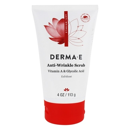 Derma-E - Refining Vitamin A And Glycolic Facial Scrub With Vitamins C & E - 4 oz.