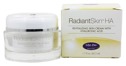 Life-Flo - Radiant Skin HA (Hyaluronic Acid) Cream - 1.7 oz.