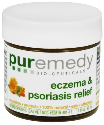 Puremedy - Eczema & Psoriasis Relief - 1 oz. Formerly Eczema Free Homeopathic Salve