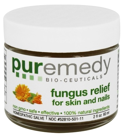 Puremedy - Fungus Relief for Skin & Nails - 2 oz. Formerly Fungus Free Skin and Nail Homeopathic Salve