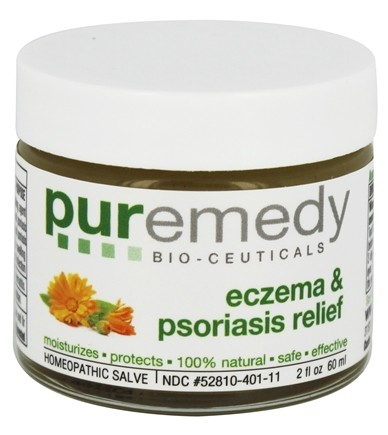 DROPPED: Puremedy - Eczema & Psoriasis Relief - 2 oz. Formerly Eczema Free Homeopathic Salve
