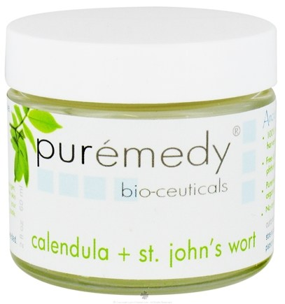 DROPPED: Puremedy - Calendula and St Johns Wort Cream - 2 oz.